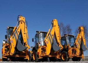 Construction tool hire diggers